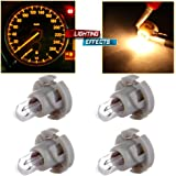 cciyu T4/T4.2 Neo Wedge Halogen A/C Climate Control Bulb Instrumnet Panel Dash Light,4Pack