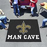 New Orleans Saints NFL Man Cave Tailgater Floor Mat (60in x 72in)