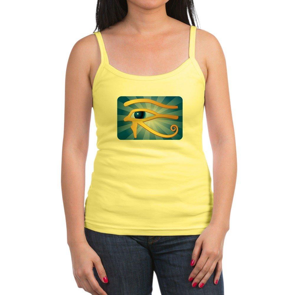 Royal Lion Jr Spaghetti Tank Egyptian Gold Eye of Horus