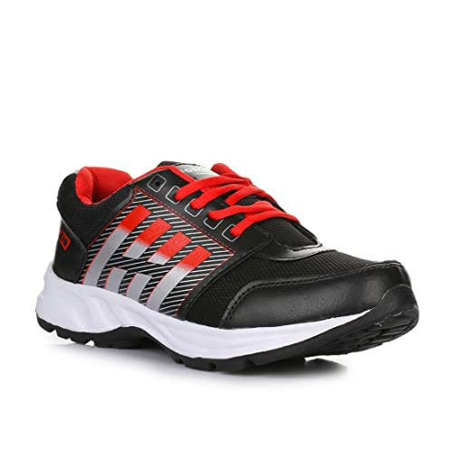 41723fbde Liberty Force 10 Black Mens Non-Leather Sports Shoes  Buy Online at Low  Prices in India - Amazon.in