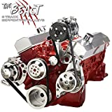 Chevy Small Bock Serpentine Conversion Kit - Alternator, Power Steering & A/C Applications