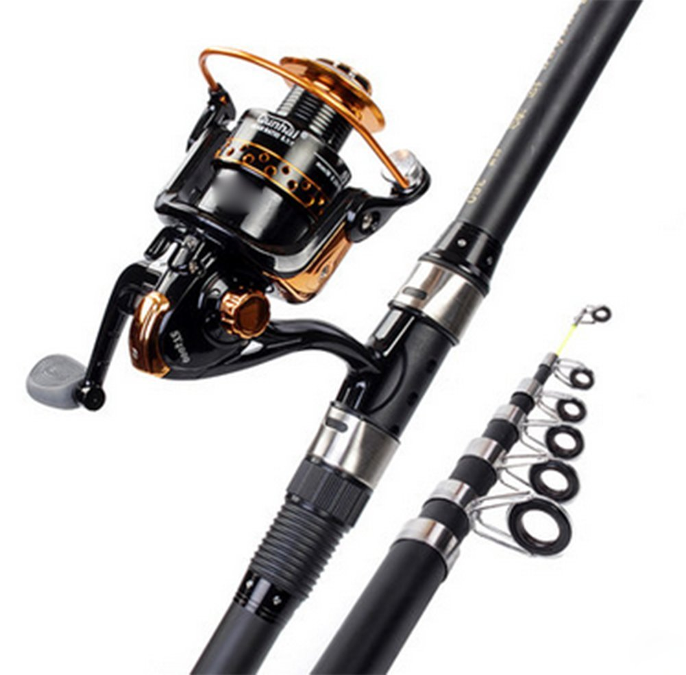 フル90ブラック海釣りロッドセット A、メタル釣りリール釣りアクセサリー 3.0m B07FHYSMWB 3.0m A B07FHYSMWB, シルバーショップ oseney:719d3ef7 --- ferraridentalclinic.com.lb