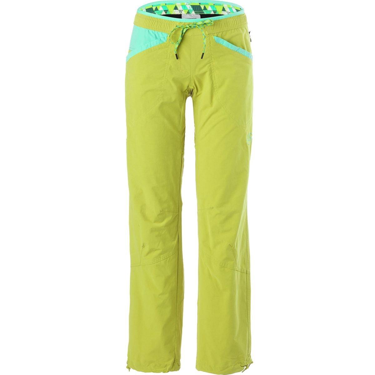 La Sportiva Sharp Pant - Women's Citronelle/Mint, M