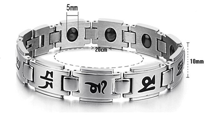 Magnetic Bracelet Titanium Therapy Balance Image 2