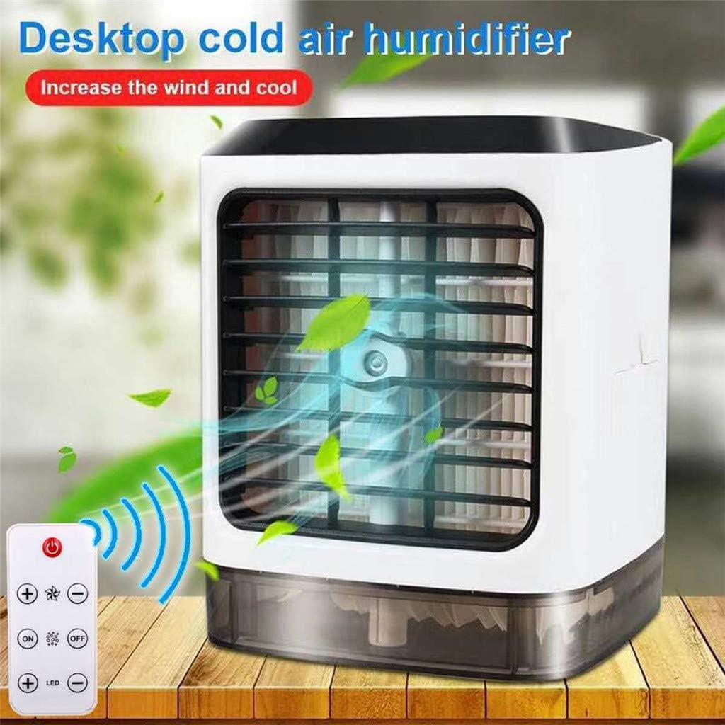 Refrigerador de aire portátil, luz diurna portátil con mini ...