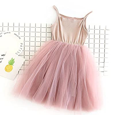 ZHUOTOP Infant Girls Tulles Princess Dress