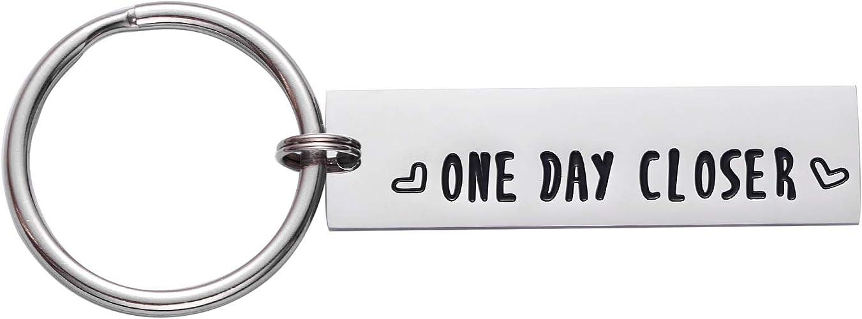 One Day Closer Keychain