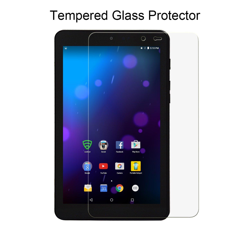 amazon com acdream sprint slate 8 screen protector tempered