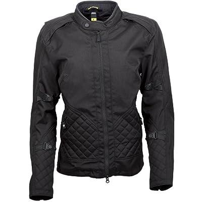 ScorpionExo Dominion Women's Textile Adventure Touring Motorcycle Jacket (Black, Small): Automotive