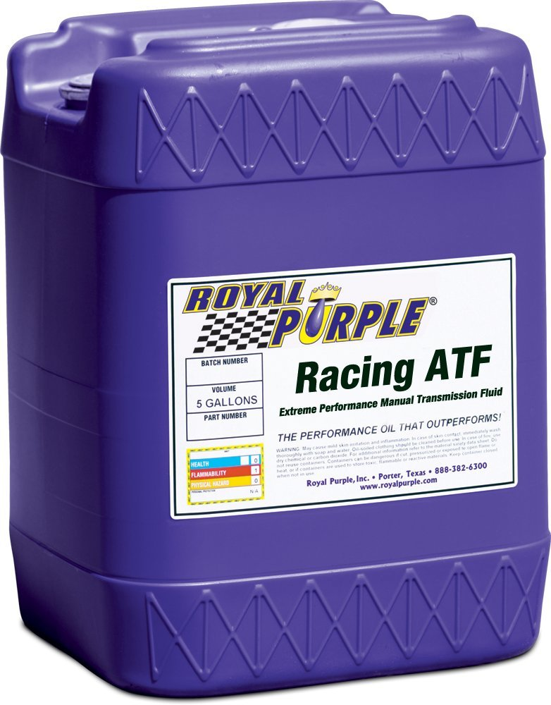 Royal Purple 10154 Racing ATF Extreme Performance Synthetic Automatic Transmission Fluid - 5 gal. by Royal Purple