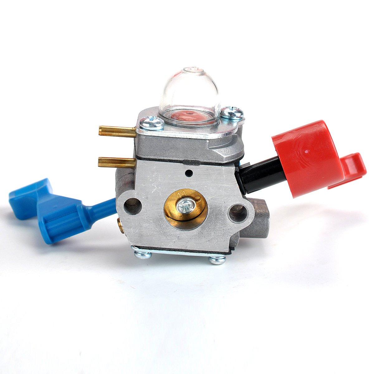 Butom Carburetor with Air Filter Gasket Fuel Line Filter for Zama C1U-W12B C1U-W12A Poulan FL1500 FL1500LE Leaf Blower 530071629 by Butom (Image #2)