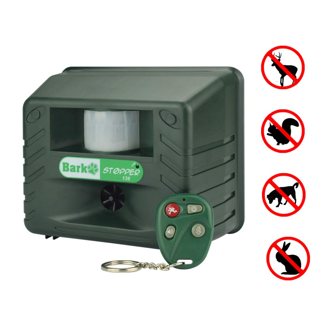 Yard Sentinel Bark Stop Sonic Controller Dog Repeller Circuit You Can Find One On This Ultrasonic Repellent Free Silencer Animal Pest Outdoor Electronic