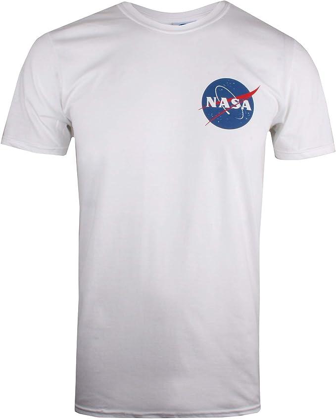Nasa Core Logo Camiseta para Hombre: Amazon.es: Ropa y accesorios