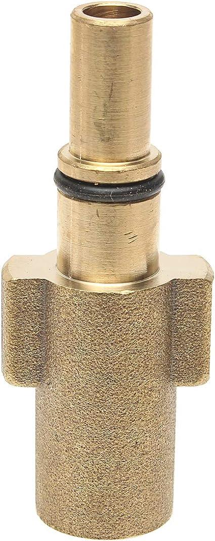 ILS 1//4 pulgadas accesorios del adaptador para lanza espuma de nieve para hidrolimpiadora macho para Bosch AQT BlackDecker