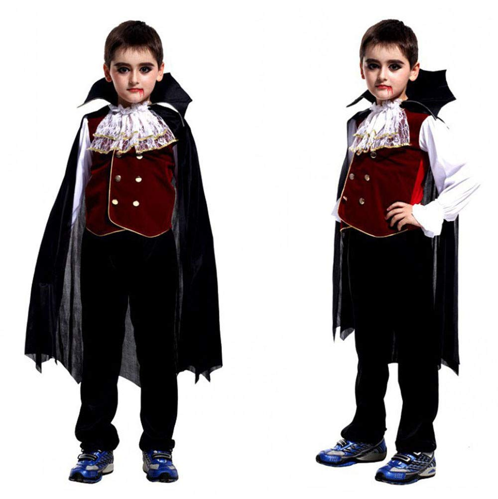 SMALLE ◕‿◕ Clearance,Toddler Kids Boys Girls Halloween Cosplay Costume Tops Pants Cloak Outfits Set by SMALLE