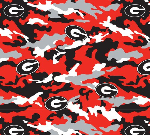 University of Georgia Camouflage Super Soft Collegiate Classic Fleece #820 (University Fleece)