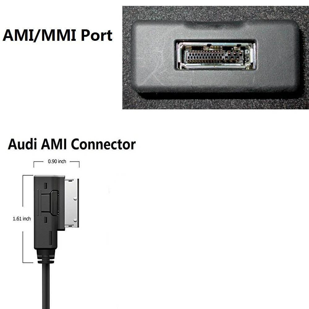 Premium CSR Chipset Enjoy HiFi Music 4351480476 Moker AMI MMI Bluetooth Streaming Adapter for Audi and VW,Works with Apple iPhone iPod Android Bluetooth Capable Devices