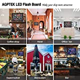 AGPtEK 16-Inch x 12-Inch Flashing Illuminated