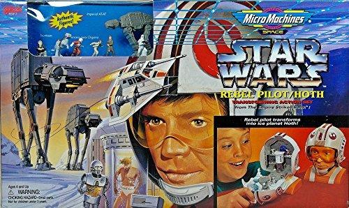 (Star Wars Micro Machines Luke Skywalker Hoth Transforming Action Play Set)