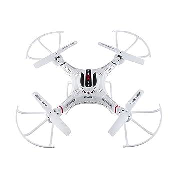 3GO Valkyria 2 - Drones con cámara (Color Blanco, hacia atrás ...