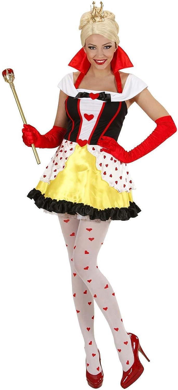 WIDMANN ? Disfraz reina de corazones, de talla M: Amazon.es ...