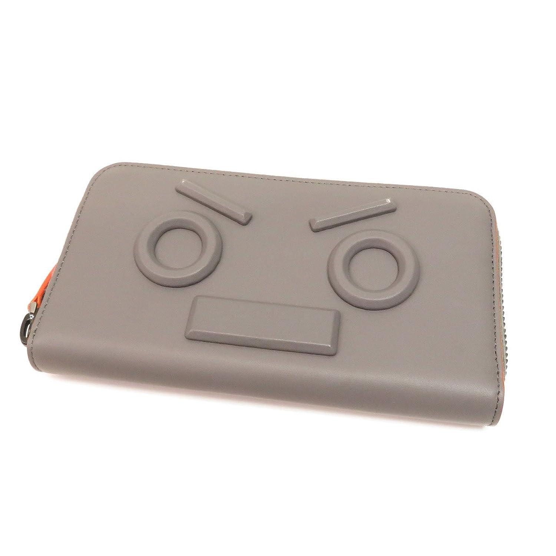 [フェンディ]ロボット 長財布(小銭入れあり) レザー レディース (中古) B07FR61TZC