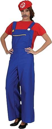 Stamco Disfraz Super Mario Mujer Adulta: Amazon.es: Juguetes y ...