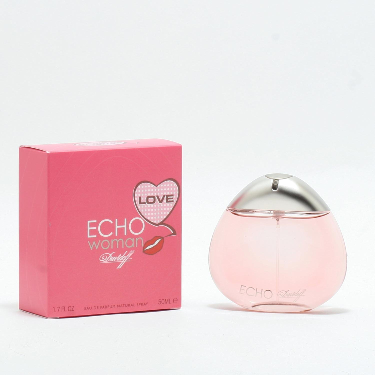 90ffbd266a Amazon.com : Davidoff Echo Woman 1.7 oz / 50 ml Eau De Parfum for women  Spray : Beauty