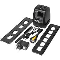 Scanner de alta resolução digital converte USB negativos slides foto ScanBlack