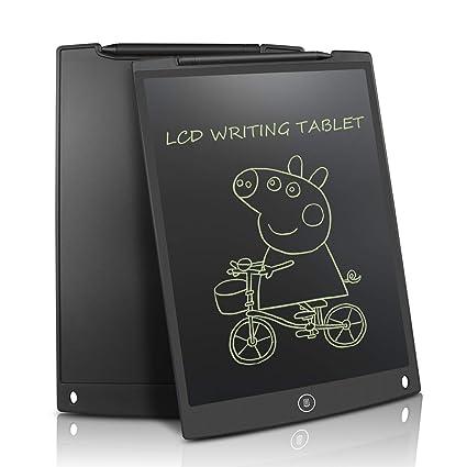 Tablets de Escritura LCD eWriter 12 Pulgadas En casa Oficina Escritura Pizarra Regalos para Niños