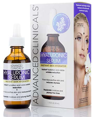 Advanced Clinicals Hyaluronic Acid Face Serum  Anti-aging Face Serum-  Instant Skin Hydrator,