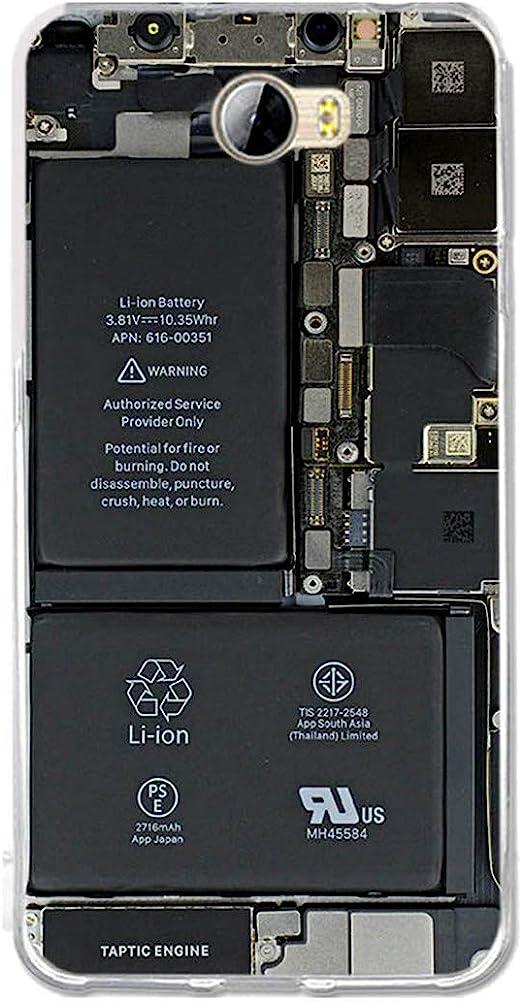 Huawei Y5II Case, Huawei Y6II Compact Case, Gift_Source Ultra Thin Anti-Slip Silicone Protective Cover Soft TPU Gel Rubber Case Clear Bumper Cute ...