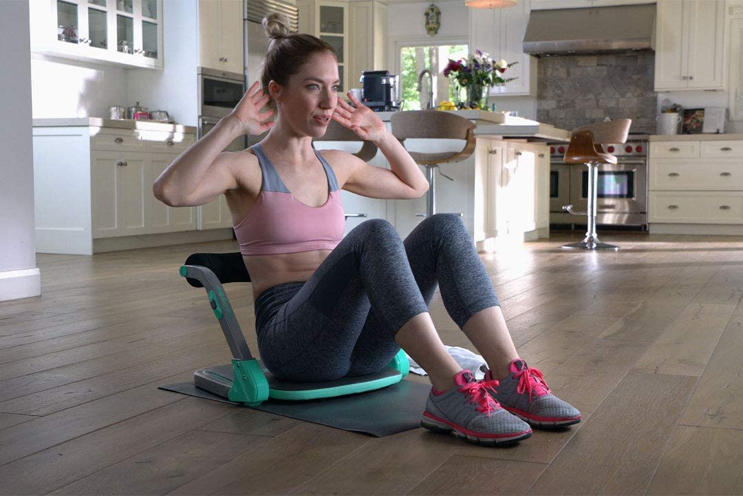 Core Max Smart Abs and Total Body Workout Cardio Home Gym
