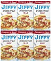 Jiffy Pizza Crust Mix, 6.5 oz, 6 pk