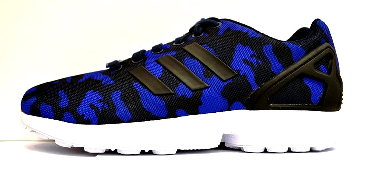 new style 5727d 3a883 70%OFF Adidas ZX Flux (Photo Print Pack-Blue Camo) Navy ...