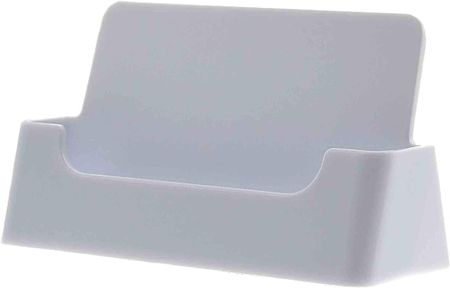 Marketing Holders Business Card Holders Gift Appointment Cards Display Stand Girls Office Desk Table or Counter White Acrylic