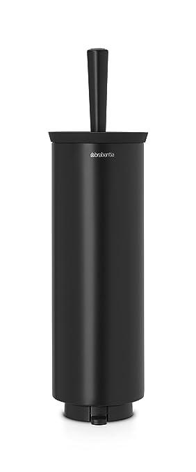7 opinioni per Brabantia Profile Bagno Portascopino WC, Nero Opaco