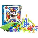 50 Piece - Preschool Building Toys - Pre-Kindergarten Toys - Sorting & Stacking Toys - Preschool Learning Toys - Toddler Toys