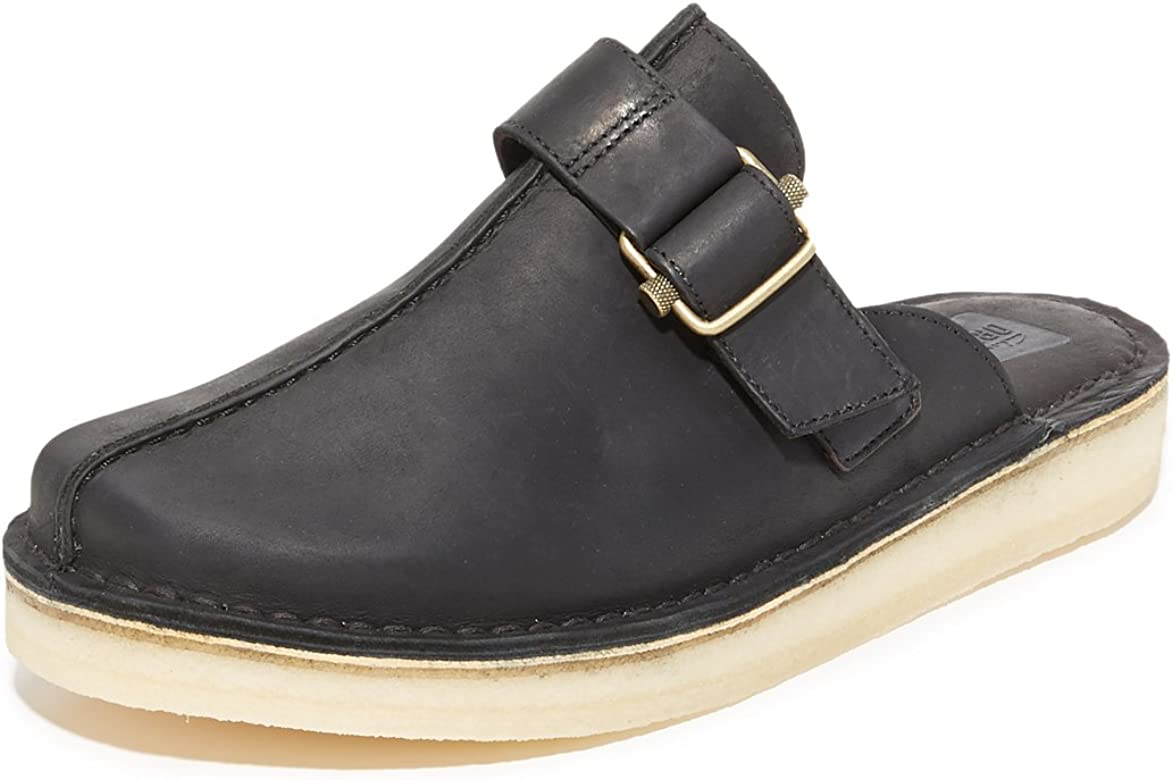 Clarks Men's Leather Trek Sandals