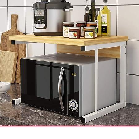 WWDS Cocina Estante,Horno Microondas,Suelo Rack De ...