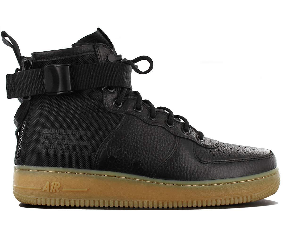 Nike Men's SF AF1 Mid Basketball Shoe 11.5 Black