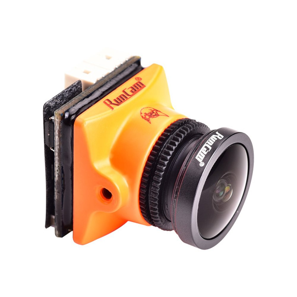 Crazepony Runcam Micro Eagle FPV Camera 800TVL Remote Control Version NTSC/PAL 4:3/16:9 Switchable Global WDR Micro CMOS Cam for Racing Drone Multicopter