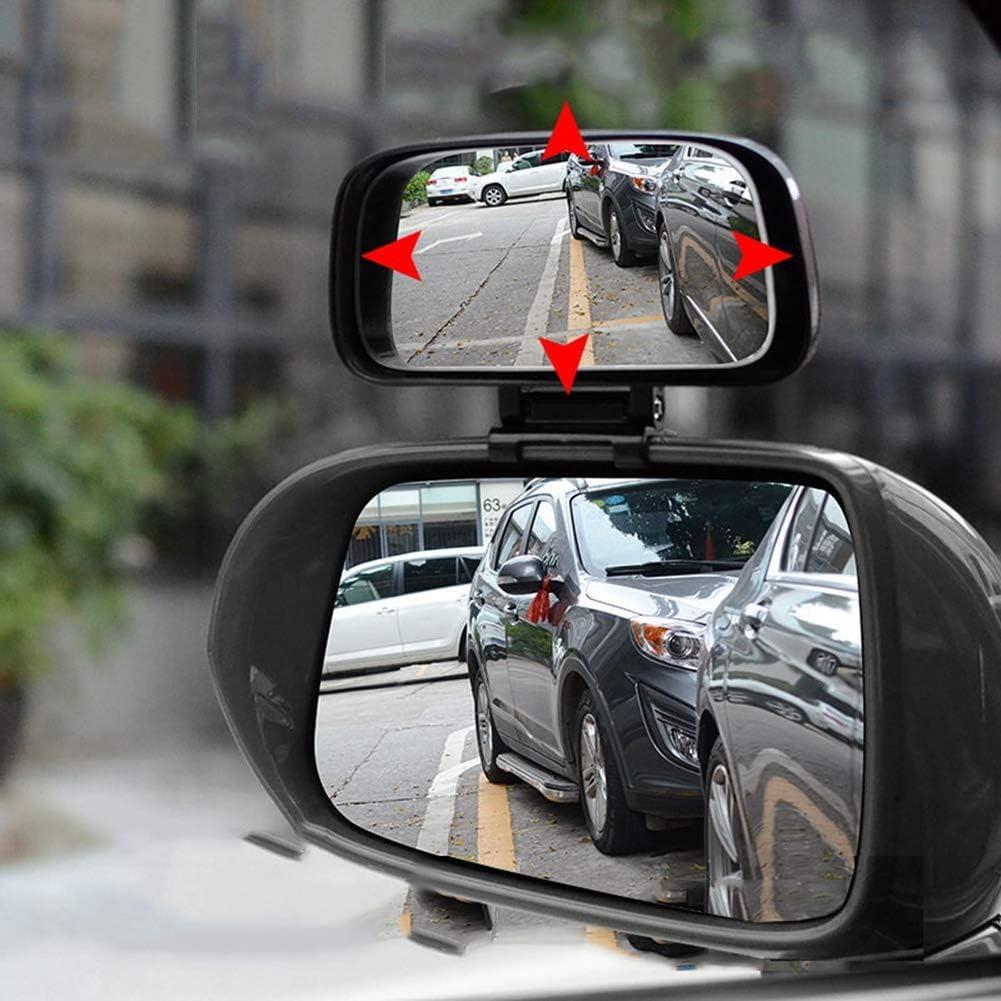 Universal Auto Toter Winkel Spiegel Morechoice Einstellbare Weitwinkel Rückspiegel Wasserdichter Konvexer Objektivspiegel Verstellbarer Auto Rückspiegel Für Fahrzeuge Pkw Lkw Suv Weiß Auto