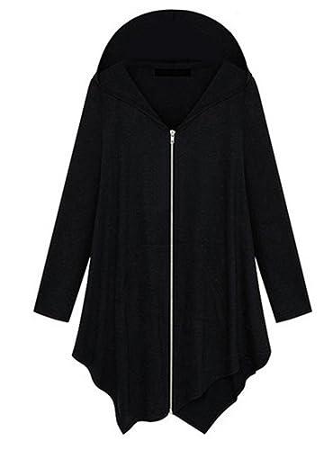 Scothen Primavera de la Mujer Otoño Casual manga larga Hoodies suéter con capucha suéter superior pu...