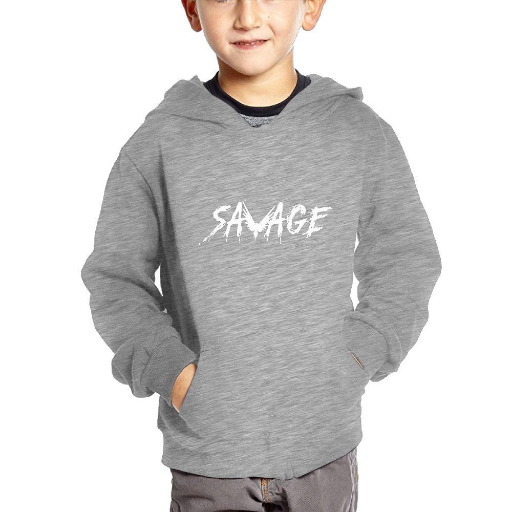 Savage Maverick Logang Kids Hip Hop Pullover Hoodie Sweater with Kangaroo Pocket Hooded Sweatshirts