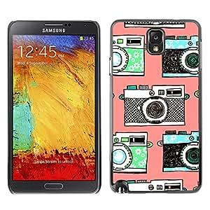 Caucho caso de Shell duro de la cubierta de accesorios de protección BY RAYDREAMMM - Samsung Galaxy Note 3 N9000 N9002 N9005 - Photo Photography