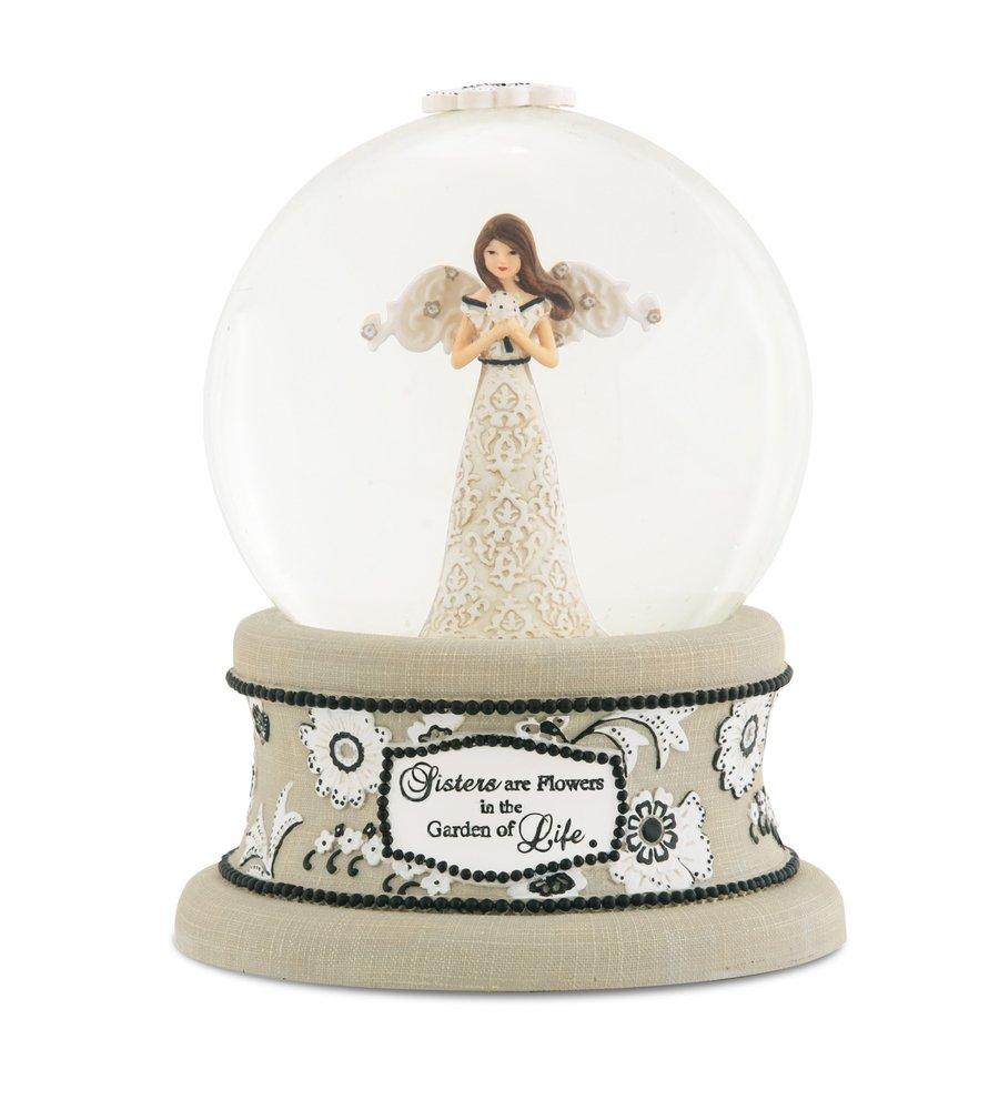 豪奢な Pavilionギフト会社Modeles Figurine 88067 100 mm B00D2WDBAE Musical Water Globe Figurine with天使 mm、妹、6インチ B00D2WDBAE, 楽市きもの館:2119653a --- arcego.dominiotemporario.com