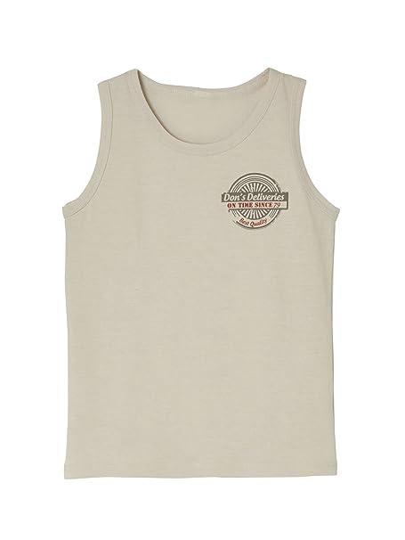 2ee5c1825 VERTBAUDET Lote de 3 camisetas sin mangas stretch niño BLANCO CLARO BICOLOR  MULTICOLO 14A  Amazon.es  Ropa y accesorios