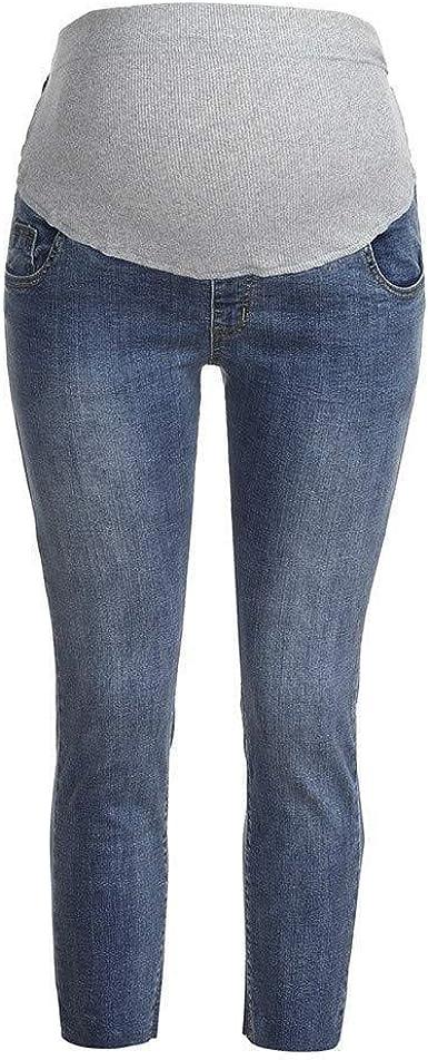 Mujeres Maternity Jeans Jeans Denim Para Embarazadas Summer Pantalones Mode De Marca De Maternidad Moda Street Fashion Embarazo Pantalon Ropa De Maternidad Amazon Es Ropa Y Accesorios