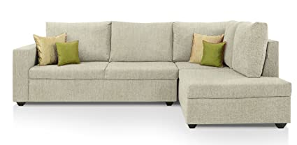 Gentil Comfort Couch Premium Sectional Sofa Set (Offwhite)